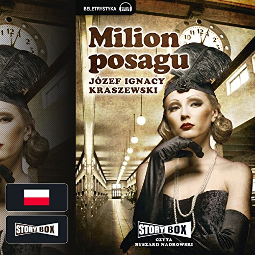 Milion posagu audiobook cover art