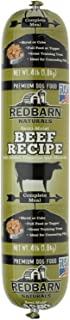 Redbarn Beef Dog Food Roll, Naturals, 4 Pound, 8 Pack