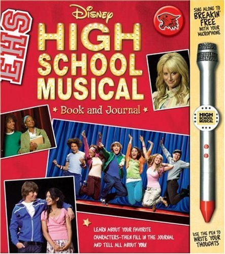 Disney High School Musical Book and Microphone Pen by Cynthia Stierle (2007-10-09)