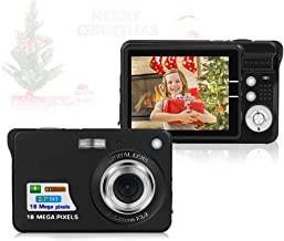 $38 » HD Mini Digital Cameras,Point and Shoot Digital Cameras for Kids Students Teens-Travel,Camping,Gifts