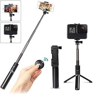 Selfie Stick Tripod with Wireless Bluetooth Remote, Innoo Tech 3 in 1 Extendable Monopod Mini Pocket Aluminum Selfie Stick...