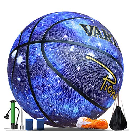 Why Choose YE ZI Basketballs- Standard Basketball Indoor and Outdoor No. 7 Basketball Size 9.7 inche...