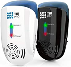 TBI Pro Ultrasonic Pest Repeller - Wall Plug-in Electromagnetic & Ionic - Ant Fly Mosquito Mouse Rats Roach Repellent Indo...