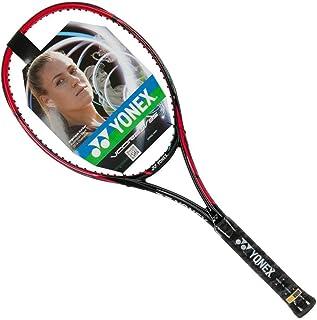 ヨネックスVcore SV 95レッド/ブラックテニスラケットStrung withカスタムラケット文字列色