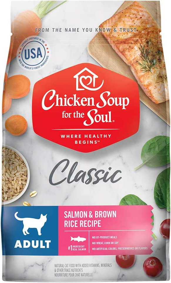 Chicken Soup for the Soul Pet Cat - Food Sale SALE% OFF Dry Salmon Adult Ranking TOP19
