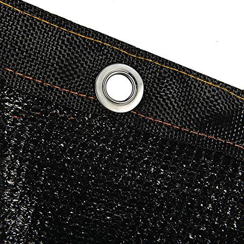 Shade Colth Hade Netting Large Sunblock Shade Cloths, Lightweight Black Windbreak Netting Fabric, for Garden Sun Room Pergola Car Park Lawn Balcony (Size : 10x12m/32.8x39.4ft)