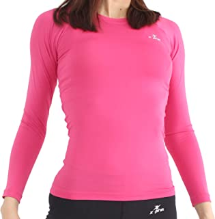 A100 Series Women's Long Sleeve Cool Base Layer Compression Shirt Sports Wear