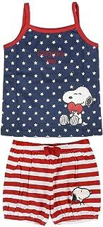 Pijama Corto Single Jersey Snoopy Conjuntos Bebés