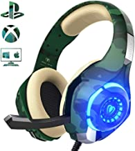 Auriculares Gaming para PS4 Xbox One Nintendo Switch,