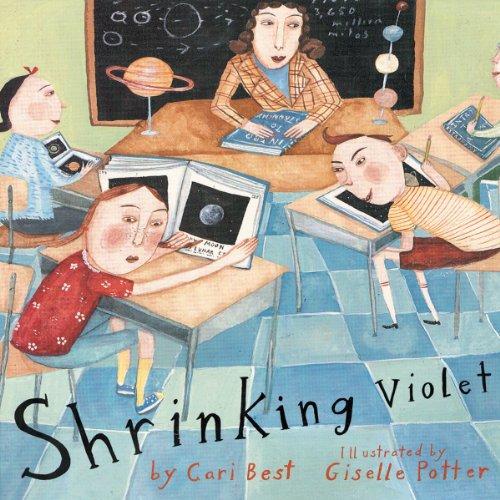 Shrinking Violet audiobook cover art