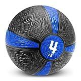 Crown Sporting Goods Tuff Grip Rubber Medicine Ball (4 LB)