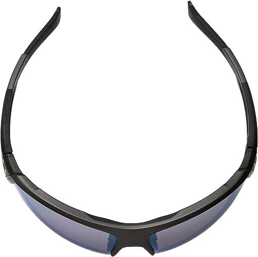 Satin Carbon/Black Frame/Blue Baseball Tuned Lens