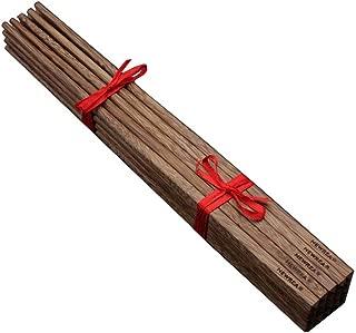 10 Pairs of Nature Chicken-wing Wenge Wood Chinese Jichimu Kuaizi Chopsticks