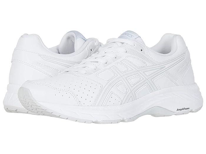 ASICS  GEL-Contend Walker (White/Glacier Grey) Womens Running Shoes