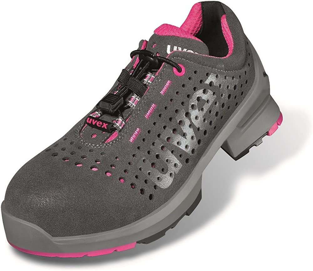 Uvex 8561.8 1 Women's Low Shoes in Pink (S1 / SRC Size 11
