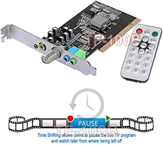 AllAboutAdapters Universal TV FM Tuner Card + DVR Video Capture Card NTSC PAL B/G D/K M/N PAL-I