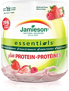 Jamieson Essentials Protein Powder Berry, 325g