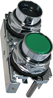 Black/Green Pendant Push Button, Number of Operators: 2, Action: Maintained