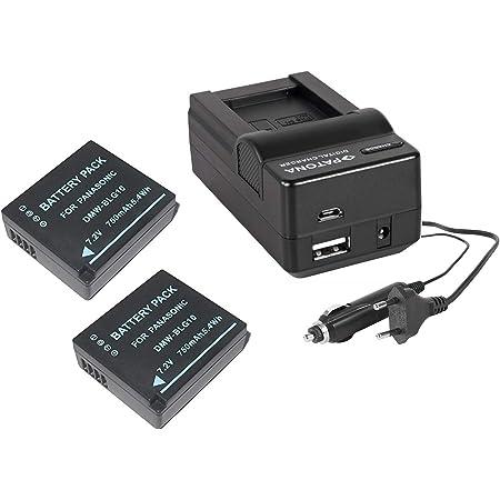 Vhbw Usb Akkuladegerät Passend Für Panasonic Lumix Kamera