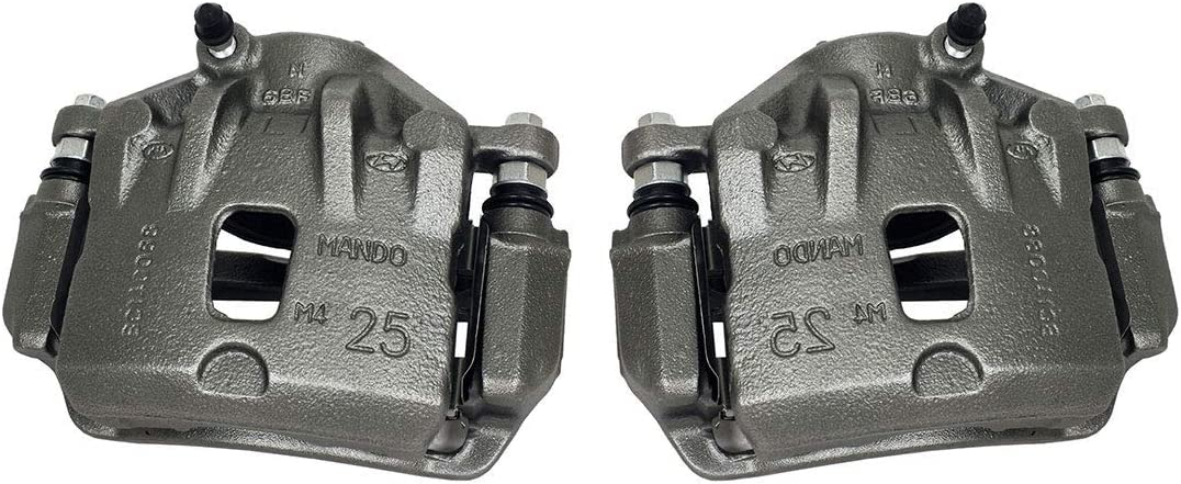 Callahan CCK03546 Industry No. 1 FRONT Premium Semi-Loaded Caliper Year-end gift + Pair OE Ha