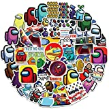 50Pcs Cartoon Game Waterproof Vinyl Stickers Decals for Laptop Water Bottles Bike Skateboard Luggage Computer Hydro Flask Toy Phone Snowboard. DIY Decoration as Gifts for Kids Girls Teens