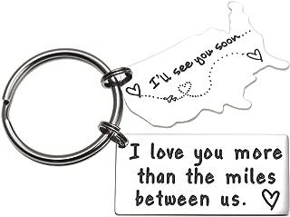 Best long distance love keychain Reviews