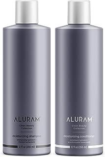 ALURAM Coconut Water Based Moisturizing and Hydrating Hair Shampoo & Conditioner Set, 12 Fl Oz