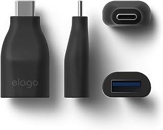 Elago Type-C to USB 3.0 Mini Adapter - Black