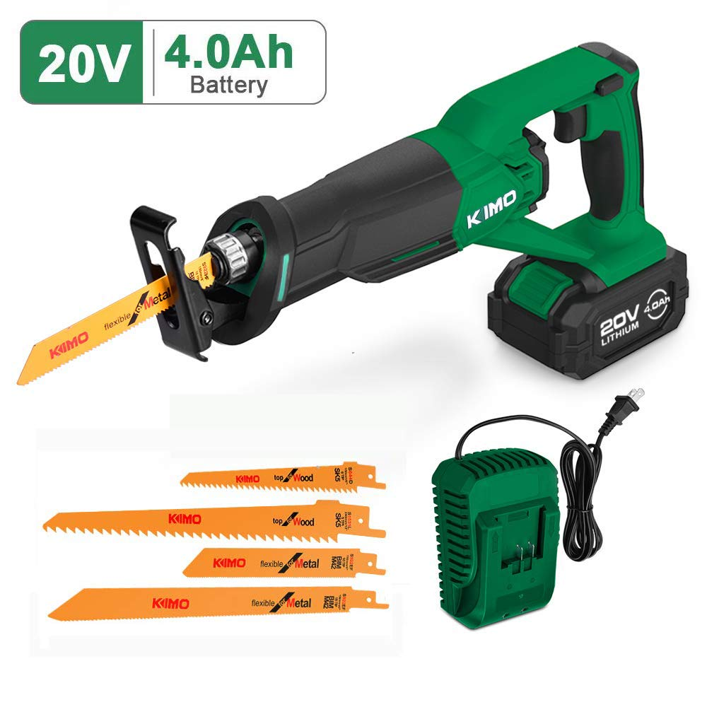 KIMO Reciprocating Saws 20v Cordless Tool Free