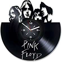Pink Floyd Vinyl Record Wall Clock. Decor for Bedroom, Living Room, Kids Room. Gift for Him or Her. Christmas, Birthday, Holiday, Housewarming Present.