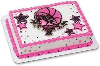 Basketball Stars DecoSet Cake Decoration - Girls