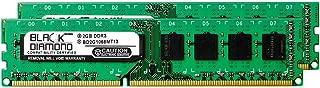 4GB 2X2GB RAM Memory for Dell Studio XPS 435MT DDR3 DIMM 240pin PC3-8500 1066MHz Black Diamond Memory Module Upgrade