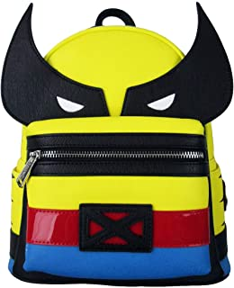 Loungefly Wolverine X-Men Faux Leather Mini Backpack Standard