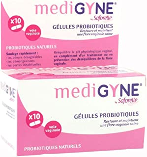 SAFORELLE MEDIGYNE G駘ules Probiotiques (10 g駘ules)