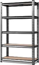 GIANTZ Warehouse Rack 0.7m Width 2 Adjustable Racks Metal Steel Warehouse Shelving Racking Garage Storage Shelves Racks 150KG Capacity/Tier