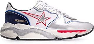 Luxury Fashion | Golden Goose Men G36MS963O8 Silver Leather Sneakers | Spring-summer 20