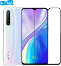 FanTing for Oppo Realme XT Screen Protector,[9H Hardness,Full Coverage,No bubbles and fingerprint],Scratch-resistant high-quality tempered glass film for Oppo Realme XT-Black(1 Pack)