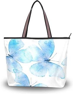 My Daily Damen Schultertasche Schmetterling Aquarell Handtasche