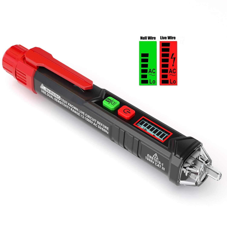 KAIWEETS Sensitive Adjustable Non contact Flashlight