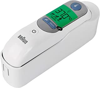 Braun Thermometer To Measure The Temperature Through The Ear, White - Irt6520