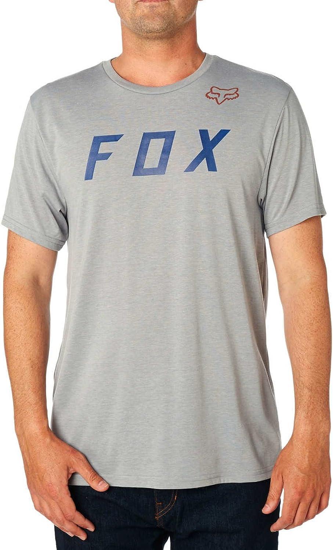 Fox Mens Standard Grizzled Short Sleeve Tech Tee
