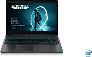 Lenovo Ideapad L340 Gaming Laptop, Intel Core i5-9300HF, 15.6 Inch FHD, 1TB HDD+128GB SSD, 8GB RAM, NVIDIA GeForce GTX 1650 4GB Dedicated Graphics, Win10, Eng-Ara KB, Granite Black - [81LK01AAAX]