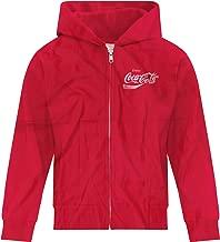 BSW Youth Girls Enjoy Coca-Cola Coke Pop Soda Drink Vintage Logo Zip Hoodie