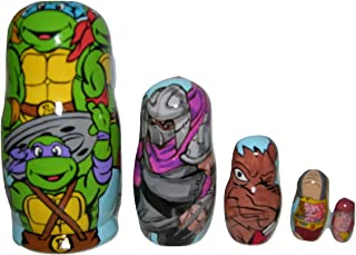 Teenage Mutant Ninja Turtles nesting doll