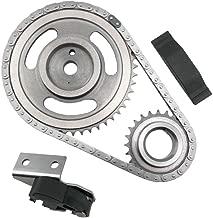 ECCPP TK5020 Timing Chain Kit Tensioner Guide Rail Cam sprockets Crank Sprocket Replacement for 94-02 Dodge Dakota Jeep Wrangler 2.5L OHV MAGNUM