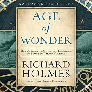 The Age of Wonder audiobook cover art