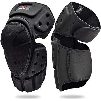 genouill/ères de motocross MCW Gear Genouill/ères de moto genouill/ères de moto r/églables pour la protection du genou ou pour adulte