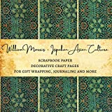 William Morris Ispahan Asian Culture Scrapbook Paper | Decorative Craft pages for Gift Wrapping, Journaling and More: Scrapbooking Album Crafts for Women