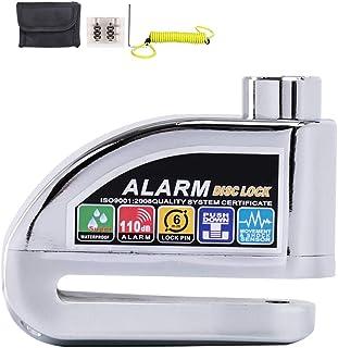 Sicurezza con Cavo di richiamo per Moto Freno a Disco 110 Db obdator ODBATOR Allarme Acustico e 6 mm Pin antifurto per Moto Allarme per Freno a Disco Scooter