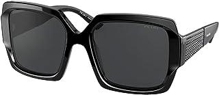 نظارة شمسية من برادا برادا NA PR 21XS اسود/رمادي داكن 54/19/140 للنساء